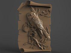 Router Engraver Carving Machine Relief Artcam Fish 3d STL Model for CNC 190