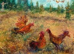 Peinture au doigt : les œuvres saisissantes d'Iris Scott