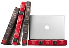 Laptop Case for your MacBook Pro that looks like a Book! #Vintage