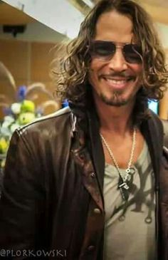Chris Cornell. There is definitely no shortage of photos of him! Lol!                                                                                                                                                      More