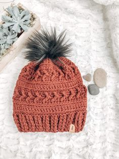Chunky Crocheted Hats |