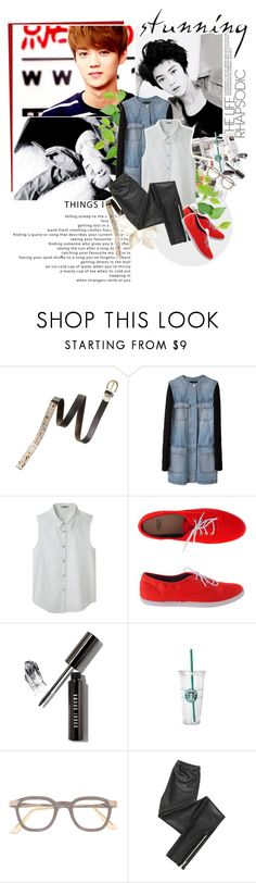 """The Things I Love"" by jinsil97 ❤ liked on Polyvore featuring Madewell, Alexander Wang, Acne Studios, American Apparel, Bobbi Brown Cosmetics, Starbucks and Blondoll"