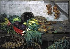 William York MacGregor - The Vegetable Stall 1884