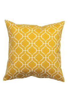Чехол на подушку с рисунком: Чехол на подушку из х/б твила с набивным рисунком. Потайная молния.