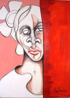Artista Aldo Anzaloni, artista que estudio arte en Brasil, su obra es exhibida en Bahía Redonda Gallery, local 26 estado Anzoátegui, Venezuela