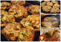 """Tieto rezne ma naučila kamarátka zPortugalska apreto ten názov """"Portugalské"""". Môžete knim pridať aj olivy asušené paradajky, sú skutočne výborné. Pork Recipes, Recipies, Cauliflower, Food And Drink, Plates, Snacks, Meals, Dinner, Vegetables"""