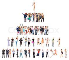 Stock foto af 'hierarki, personale, målsætninger'