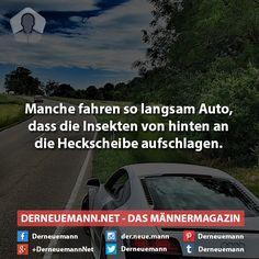 Spruch des Tages #derneuemann #humor #sprüche #spruch #witzig #auto