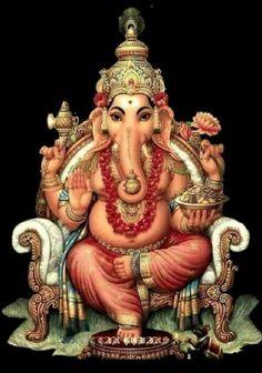 Shri Ganesh Images, Shiva Parvati Images, Ganesha Pictures, Lakshmi Images, Ganesha Tattoo, Ganesha Art, Lord Ganesha Paintings, Lord Shiva Painting, Shiva Art