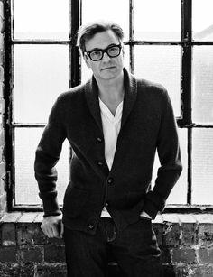 Colin Firth Photo: Robert Harper ELLE UK