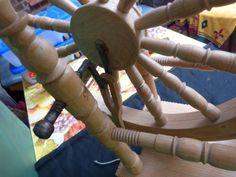 Schönes Spinnrad in Mitte - Hamburg Wilhelmsburg   Basteln, Handarbeiten und Kunsthandwerk   eBay Kleinanzeigen