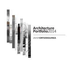 Architecture Portfolio por Javier Ortiz de Guinea