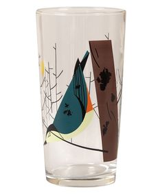 Fishs Eddy Oldham and Harper Nuthatch Glass | Glasses by Fishs Eddy | Liberty.co.uk
