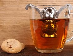 Fun for tea with the grandkids! Kikkerland Design Inc » Products » Monkey Tea Infuser