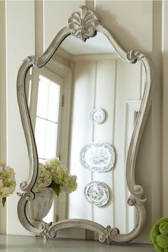 perfect mirror for Kait's little vanity! Isabella Mirror from Soft Surroundings