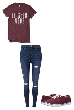"""""""Untitled #9"""" by susanne2743 on Polyvore featuring Miss Selfridge and Vans"""