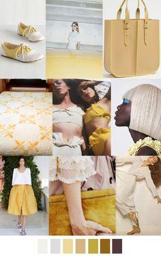 S/S 2017 colors & patterns trends: MILK & HONEY