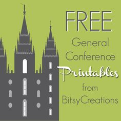 BitsyCreations: LDS General Conference