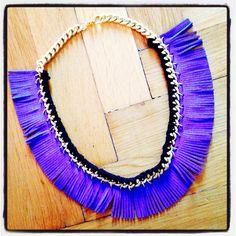Joannie blue necklace