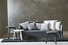 Ghost sofa by Paola Navone