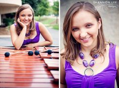 marimba senior photography