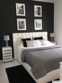 Room Ideas Bedroom, Home Decor Bedroom, Black Bedroom Decor, Bedroom Furniture, Room Interior, Interior Design, Kitchen Interior, House Rooms, Room Inspiration
