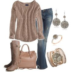 """Weekend Comfort Sweater"" by smores1165 on Polyvore"