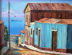 House 2, Ideas Para, Shed, Mexico, Outdoor Structures, Watercolor, The Originals, Canvas, House Styles