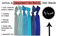 Active Accessories Products from With Our Best #review #hairtie #workoutgear