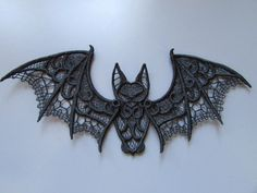 Hey, I found this really awesome Etsy listing at https://www.etsy.com/listing/470882692/embroidered-bat-lace-applique-with