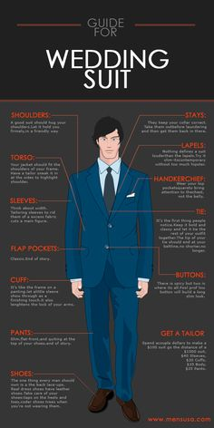 Here an advice about your suit for your wedding for men in USA to appear as the best man ever after wedding and before wedding.