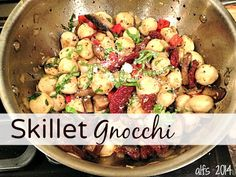 Skillet Gnocchi - A Life From Scratch.