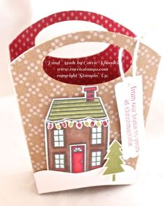 December 05, 2014 Carrie Stamps: Fry Box Die, Under the Tree dsp, Holiday Home IMG_1907