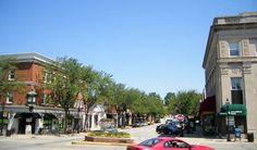 Downtown Glen Ellyn Il Public Domain Photo In Illinois