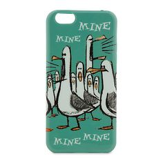 [Mine! Mine!]This cute case is in high demand as it stars the single-minded seagulls from <i>Finding Nemo</i>. Featuring a sea green background and adorable artwork, this tech accessory is certain to make your iPhone 6 the envy of the other birds.