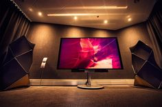 Visit your local Bang & Olufsen for a demo of our high-end speakers, televisions and luxury headphones. Visit us at Fredrikinkatu 38 in Helsinki. Bang And Olufsen, Helsinki, Luxury Homes, Bangs, Audio, Room, Design, Luxurious Homes, Fringes