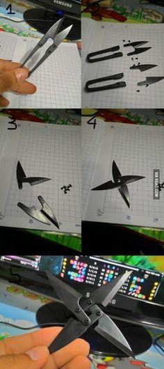 DIY shuriken