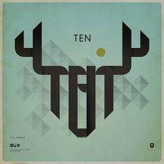 Tipografía - Minimalistic poster design for FITC, Canada | Designchapel