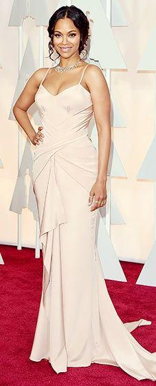 Zoe Saldana: 2015 Oscars