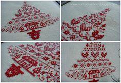 Scandinavian Christmas Tree - collage