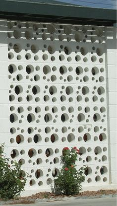 decorative concrete block, a little less usual