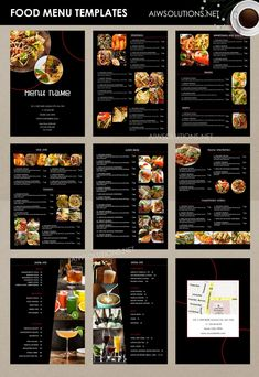 A visually enticing menu can be simply as appealing as the food it offers. Style Wizard has both detailed and easy menu templates to lure your custome. Pizza Menu Design, Cafe Menu Design, Menu Card Design, Food Menu Design, Stationery Design, Food Menu Template, Restaurant Menu Template, Restaurant Menu Design, Restaurant Identity