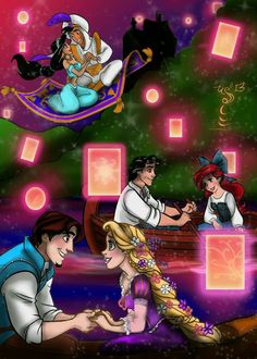 Dreams do come true - 3 favorite disney movies and characters Disney Couples, Disney Girls, Disney And Dreamworks, Disney Pixar, Dreamworks Movies, Magic Day, Disney Crossovers, Disney Addict, Disney And More