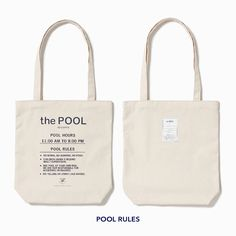 SOUVENIR TOTE(SMALL)|the POOL aoyama