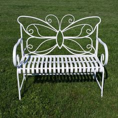 Iron Patio Furniture, Steel Furniture, Furniture Decor, Outdoor Furniture, Outdoor Decor, Wrought Iron Decor, Iron Wall Decor, Metal Garden Benches, Garden Chairs
