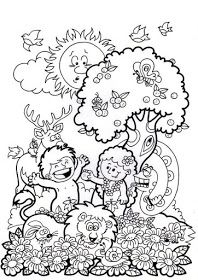 50 DESENHOS BÍBLICOS DA CRIAÇÃO DO MUNDO PARA COLORIR PINTAR IMPRIMIR - ESPAÇO EDUCAR DESENHOS PINTAR COLORIR IMPRIMIR Bible Coloring Pages, Cute Coloring Pages, Coloring For Kids, Coloring Books, Bible Story Crafts, Bible Crafts For Kids, Bible Stories, Toddler Learning Activities, Bible Activities