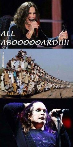 """27 More Metal Memes For The Rockers - Funny memes that """"GET IT"""" and want you to too. Get the latest funniest memes and keep up what is going on in the meme-o-sphere. Music Memes, Music Humor, Ozzy Osbourne Quotes, League Of Legends, Funny Images, Funny Photos, Metal Meme, Lol, Band Memes"""