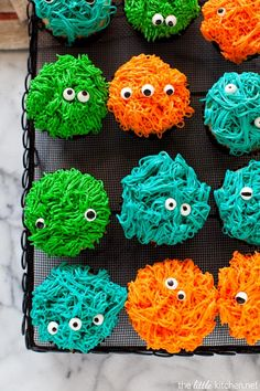Easy Homesteading: Monster Cupcakes DIY