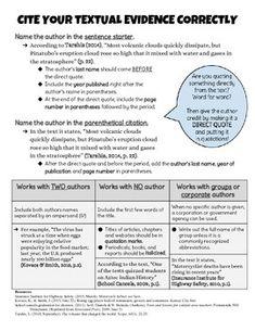 008 APA Parenthetical Citation Guide Student Handout ELA
