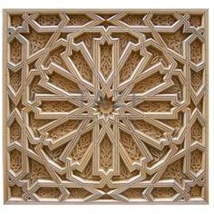 Supplier of Moroccan decorative wood mouldings, Moorish crown molding, Islamic woodwork. Wood Carving Designs, Wood Carving Patterns, Moroccan Design, Moroccan Decor, Wooden Art, Wood Wall Art, Motifs Islamiques, Islamic Art Pattern, Arabic Pattern